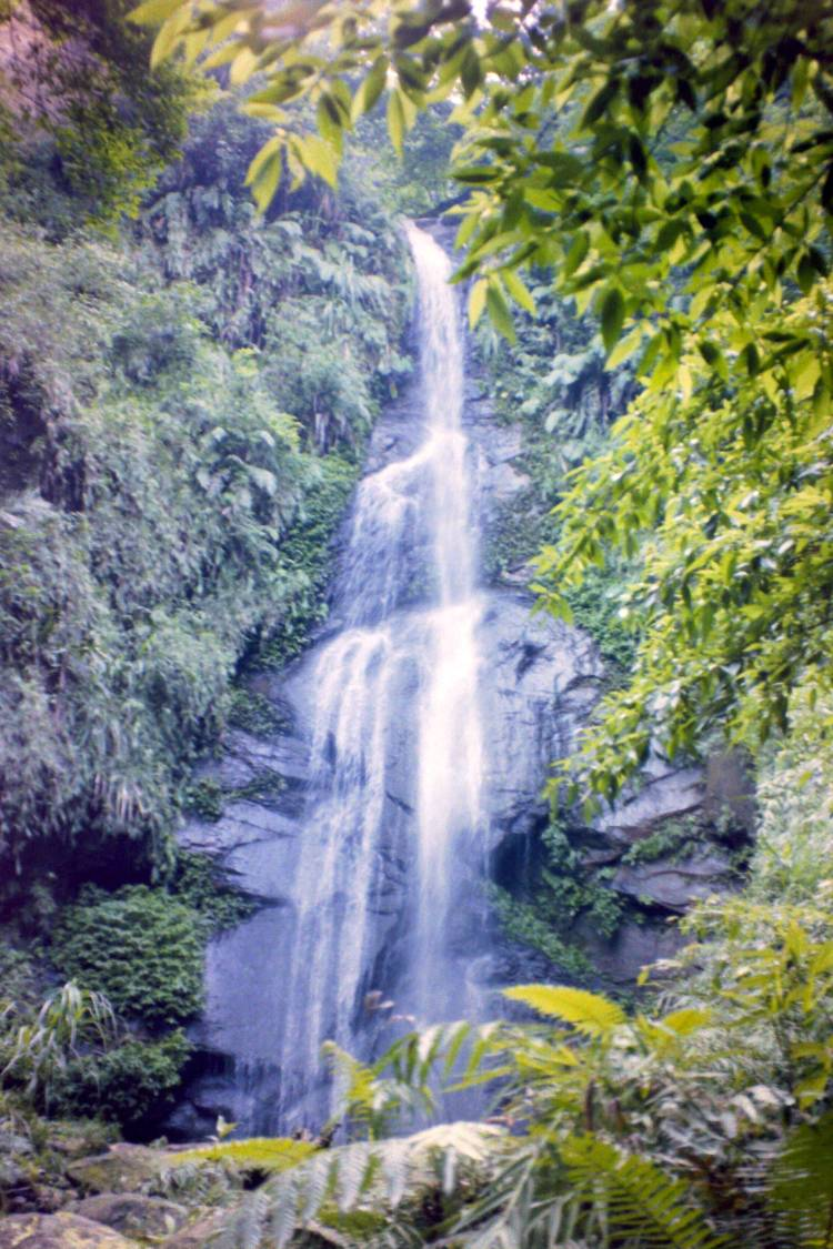 Shengquan Waterfall in the early 1990s